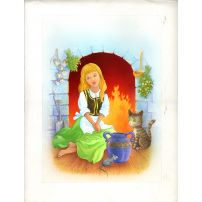 Cinderella by the Fire Cinders
