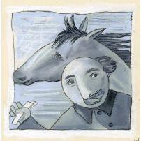 Coachman with a Horse