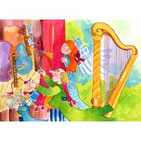 Harp and Flutes