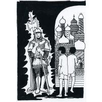 Enchanted Knight in Baghdad